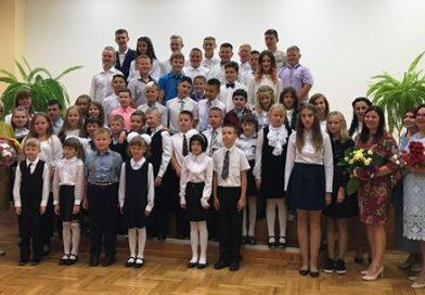 Sirsnīgi sveicu skolēnus, skolotājus, skolas darbiniekus, vecākus  Zinību dienā